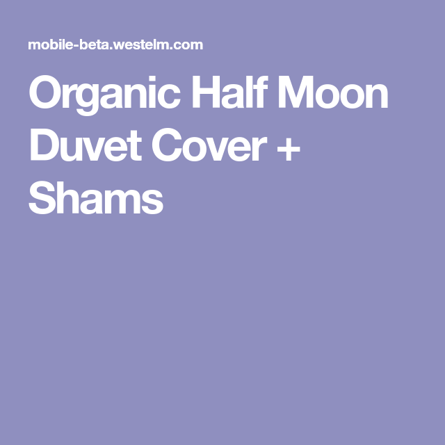 Best Organic Half Moon Duvet Cover Full Queen Shimmer Blue 640 x 480