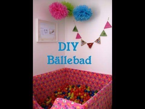 Diy Ballebad Fur Ein Kinderzimmer Playground Equip Baby Diy