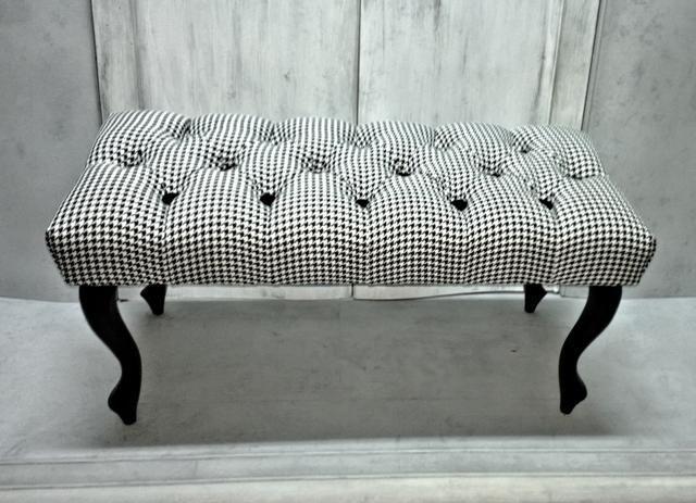 Pufa Laweczka Pikowana Pepitka Chesterfield Lawka 4673067078 Oficjalne Archiwum Allegro Home Decor Furniture Pouffe