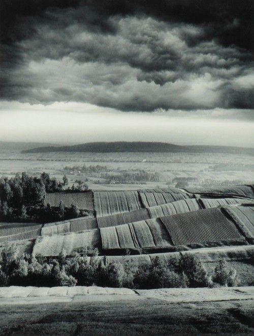 Zbocza Klonówki z cyklu Portret Ziemi Kieleckiej, 1967