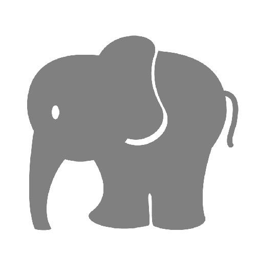 Download Custom Printed Baby Shower Peek-a-boo Candy Tin   Elephant ...