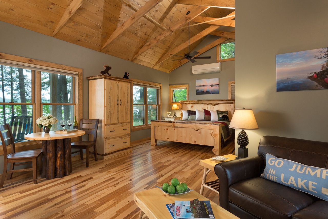 Exceptional Maine Lodging Cozy guest rooms, Maine bed