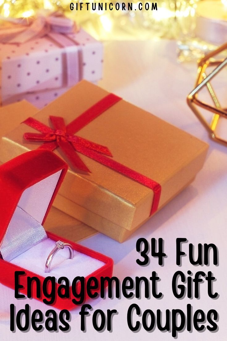 34 fun engagement gifts for couples giftunicorn in 2020