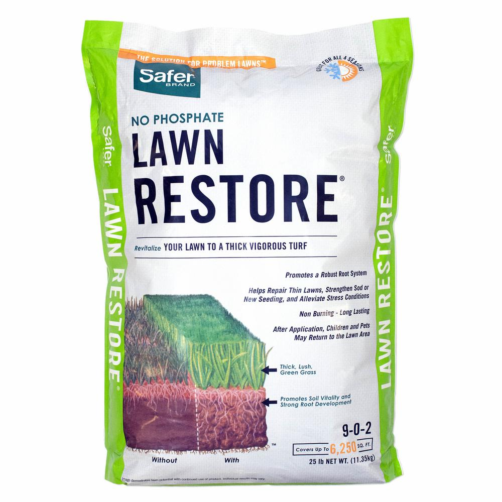 Safer Brand 25 lbs. Lawn Restore Natural Fertilizer9334