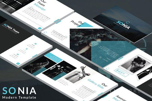 Kentang - Keynote Template by Rits Studio on @creativemarket - keynote template