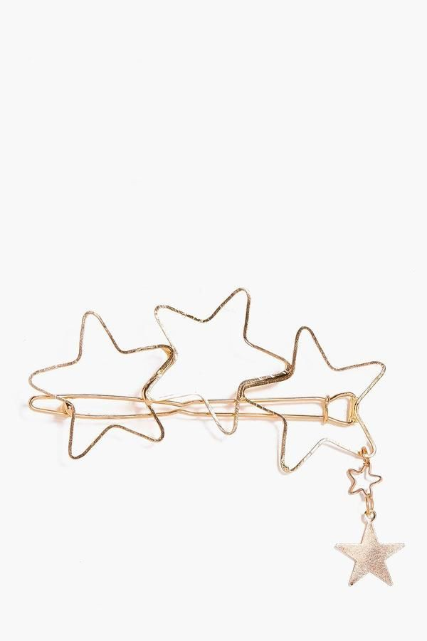 Boohoo Aimee Star Cluster Hair Pin