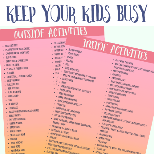 101 Things to Do When You're Bored | Kids Edition