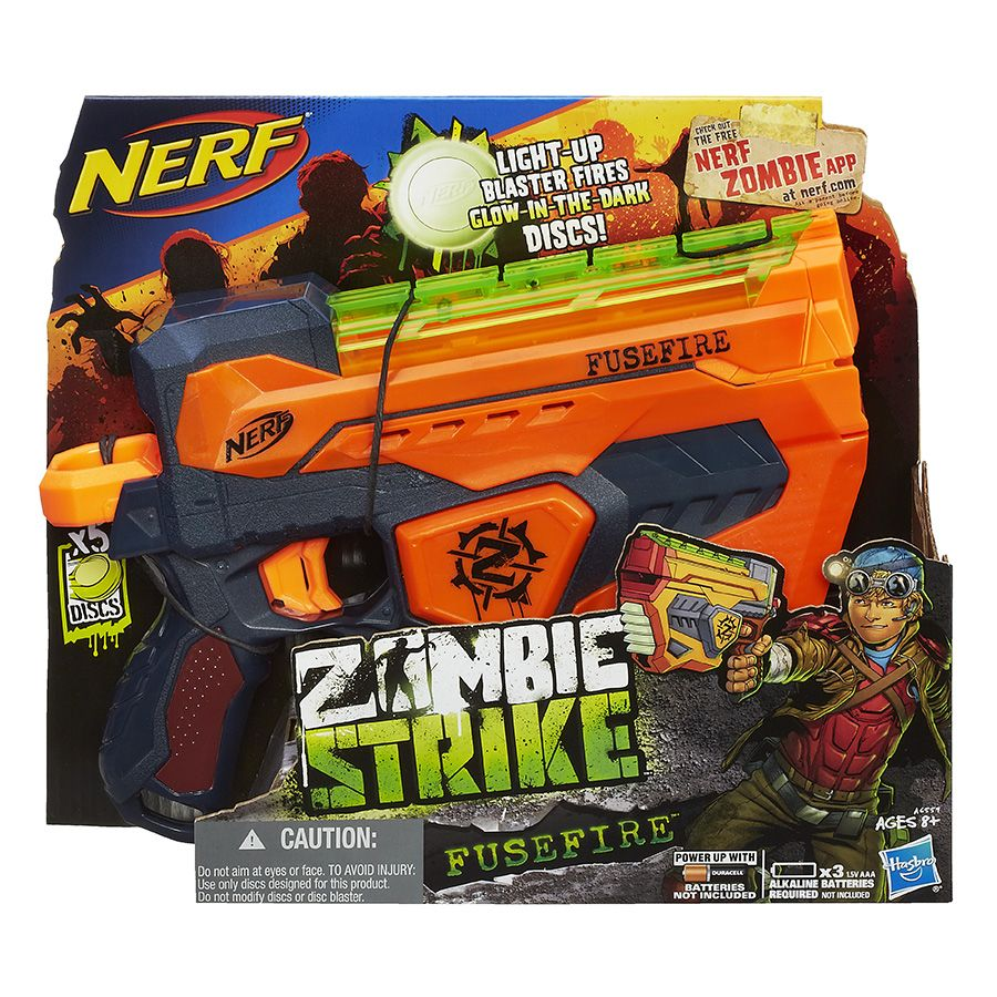 Zombie Toys R Us : Nerf zombie strike fusefire blaster toys r us australia