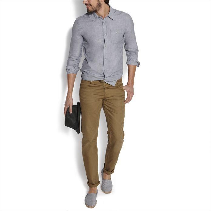 Jeans homme a la mode