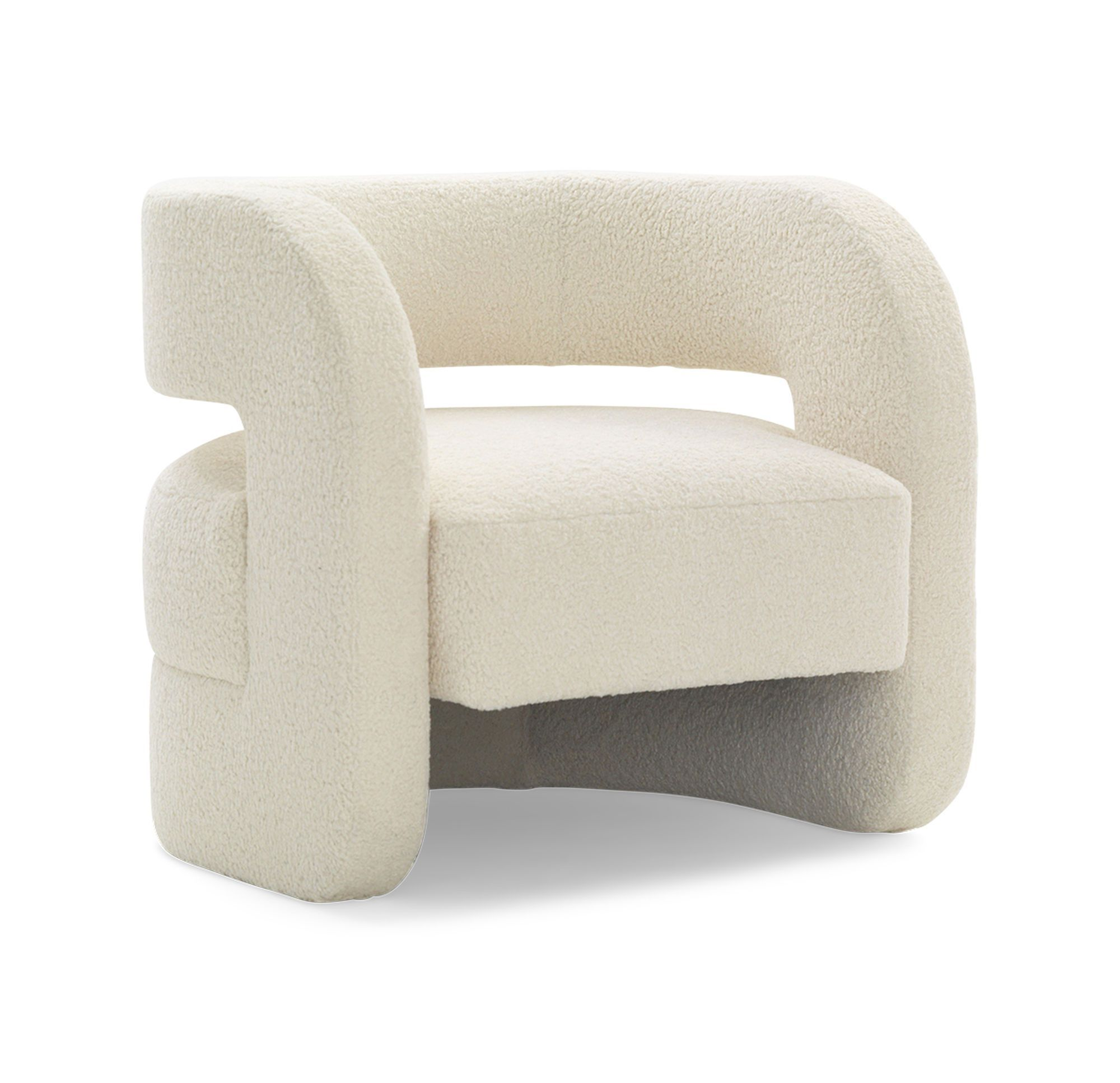 Modern Sherpa Armchair English Country Home Furniture Creative Furniture Furniture Design