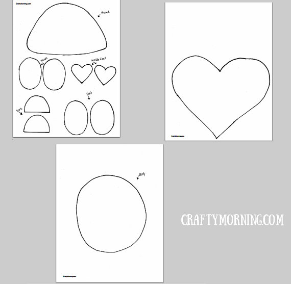 love you beary much craft template valentine party pinterest