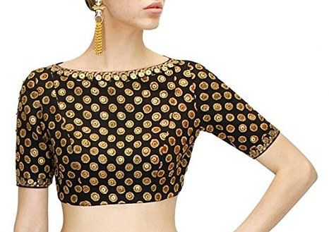 90642138 Fabboom New Latest Black Colour Blouses #SareeBlouses #Black ...