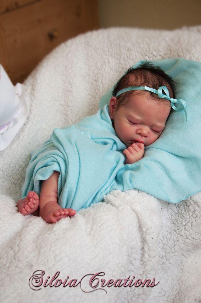 Silviacreations Erin Prototype By Adrie Stoete Lovely Face Silikon Wiedergeborene Babys Silikon Babypuppen Reborn Baby Girl