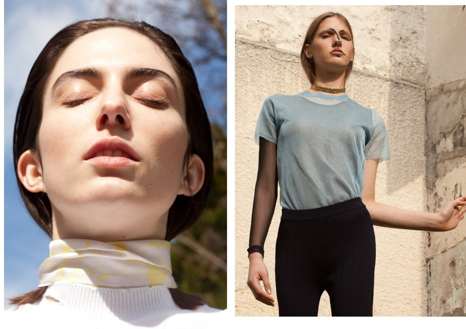 pina: celine coureau and sophie schleidweiler by niclas heikkinen for grit magazine!   visual optimism; fashion editorials, shows, campaigns & more!