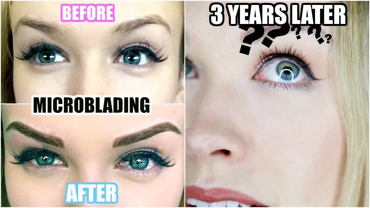 3 YEARS AFTER MICROBLADING! Was It Worth It? (Eyebrow