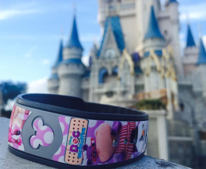 Custom disney magic band decal doc mcstuffins inspired disney magic bands sticker by shopemilyg