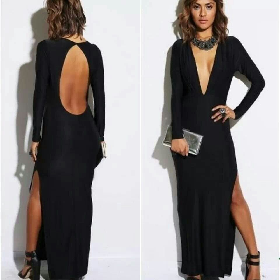 The back detail without the side slit u dramatic front would love