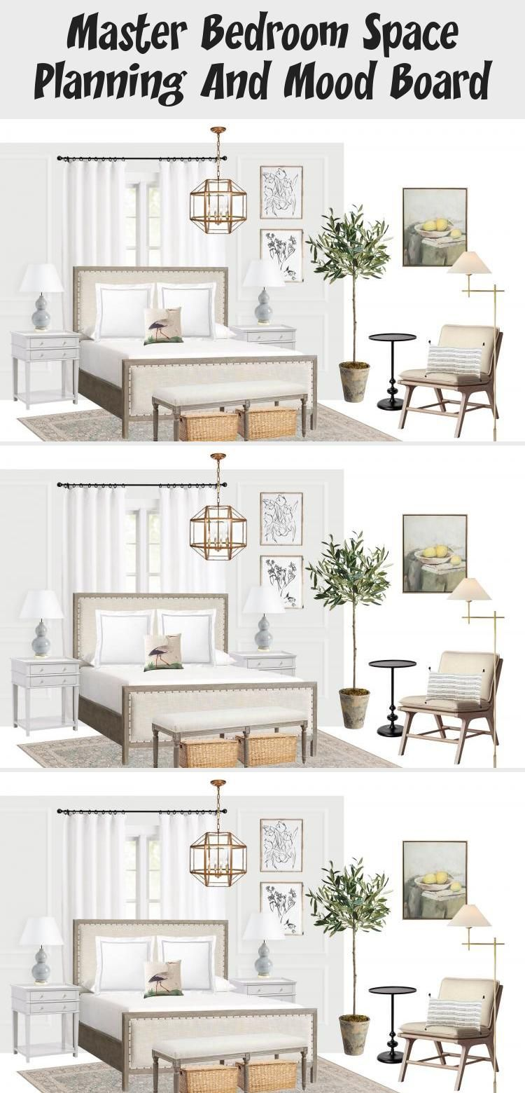 Master Bedroom Space Planning And Mood Board In 2020 Serene Bedroom Interior Design Mood Board Bedroom Renovation