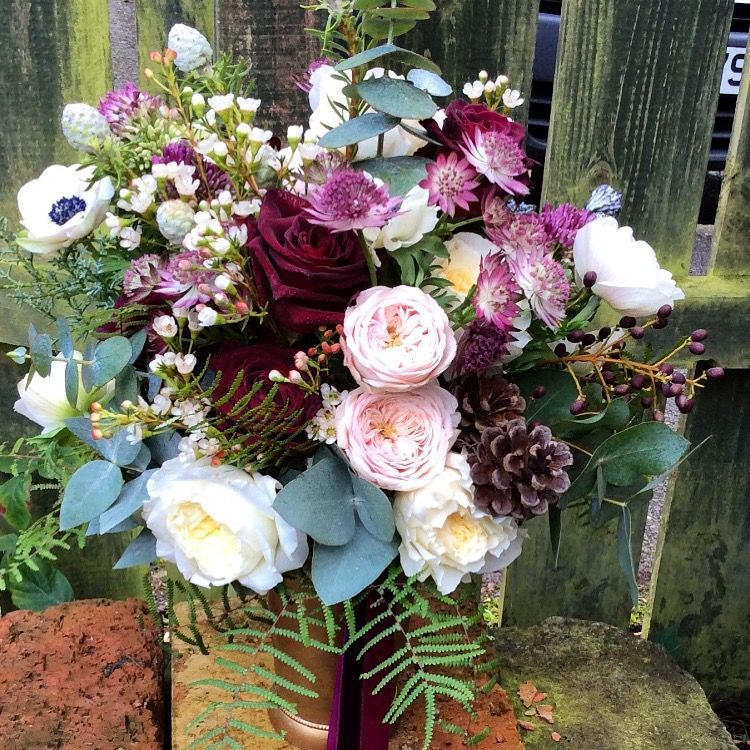 Beautiful June Wedding Flowers Arrangements: Pin By The Flower Room Belfast On Wedding Bouquets In 2019