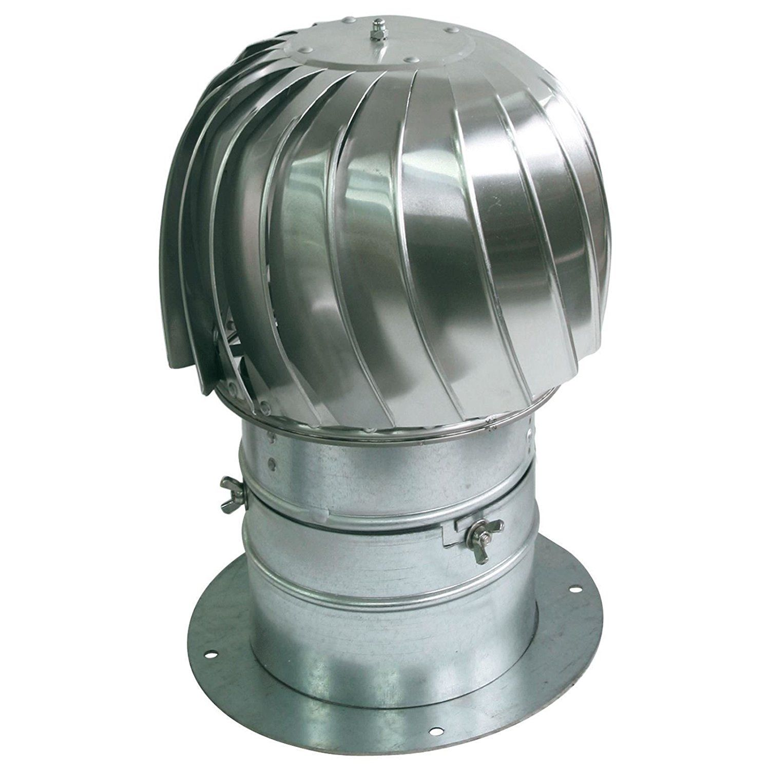 Spinning Chimney Cowl Aluminum Downdraught Ventilation With Extra Collar 200mm See This Great Product Chimney Cowls Roof Cap Aluminum