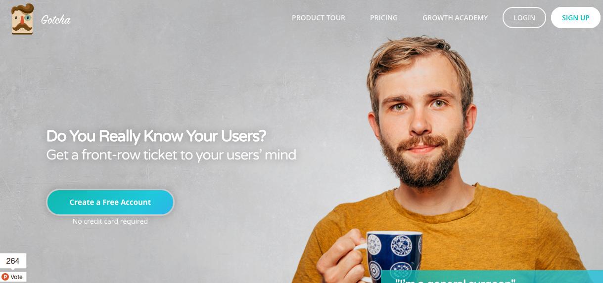 Sitio del día: Gotcha, una app para conocer a los consumidores