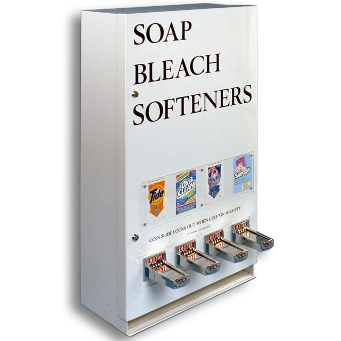 Four Column Laundry Soap Vending Machine Laundry Soap Vending