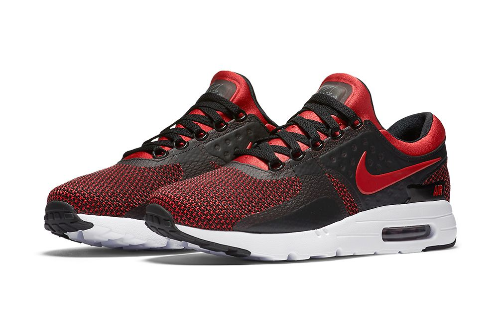 """The Nike Air Max Zero Gets a """"Bred"""" Colorway"""