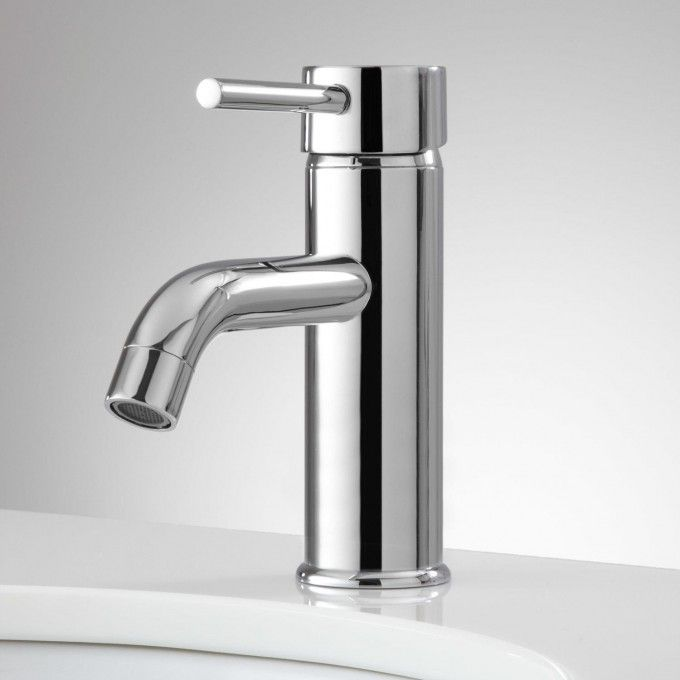Hewitt Single Hole Bathroom Faucet With Pop Up Drain By Signature