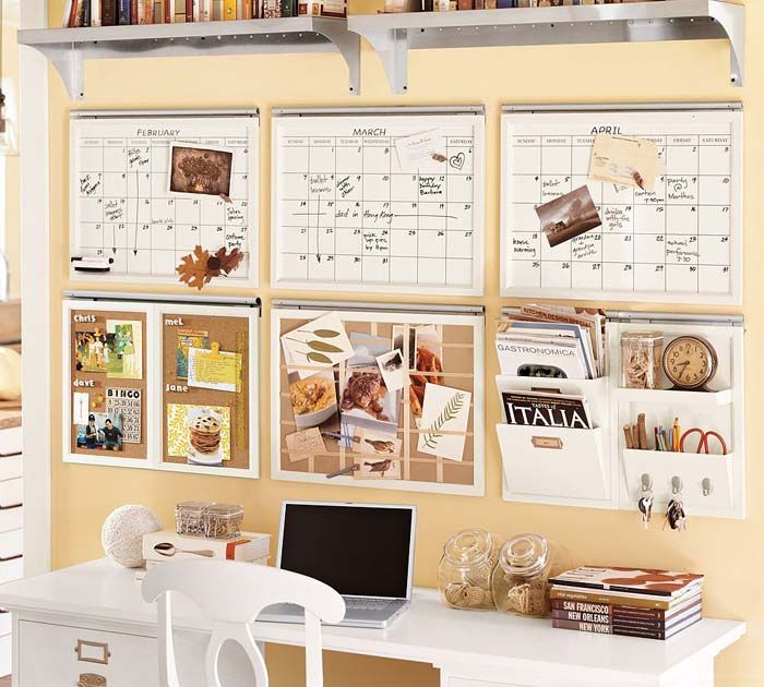 Home Office Ideas For Small Spaces Wall Pinterest Home Office Design Decorating Ideas Office Organisation Home Organization Hacks Organization Furniture
