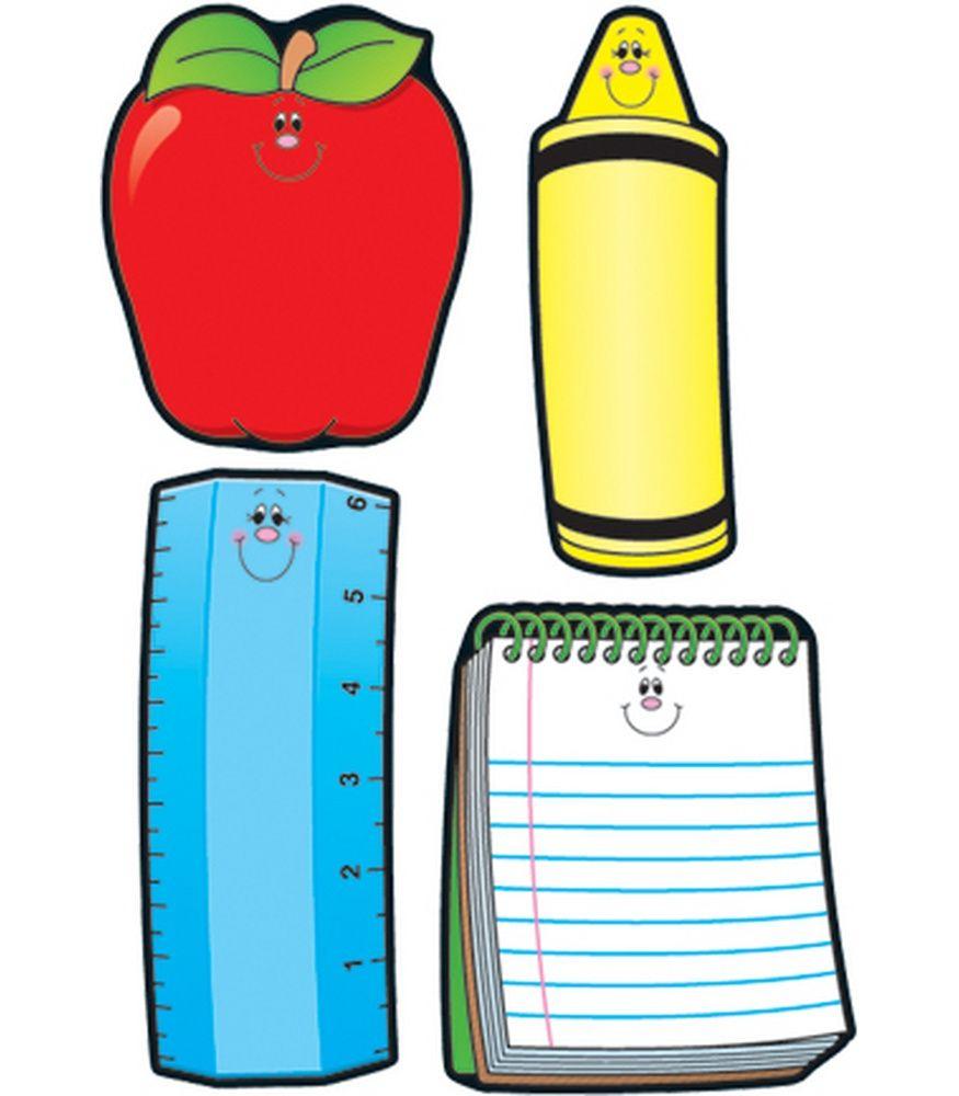 School Tools Cut-Outs | Carson Dellosa/Melonheadz | Pinterest | Kind