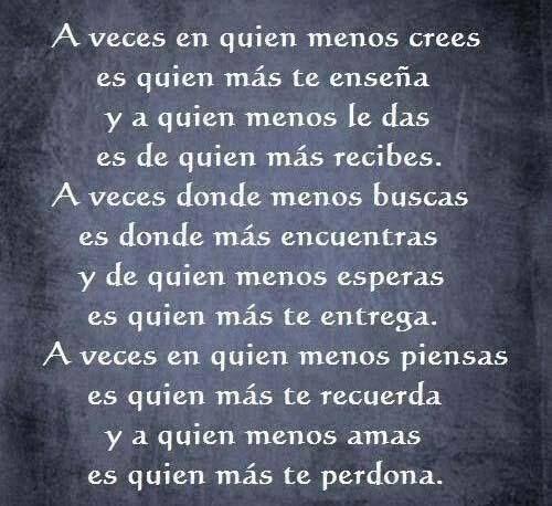 Aveces... Spanish quotes, Text quotes, Quotes