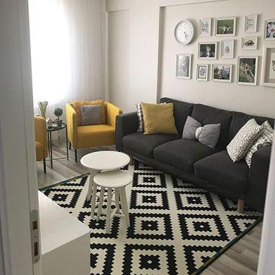 Siyah Beyaz Dekorasyon Fikirleri ve Örnekleri   Evde Mimar