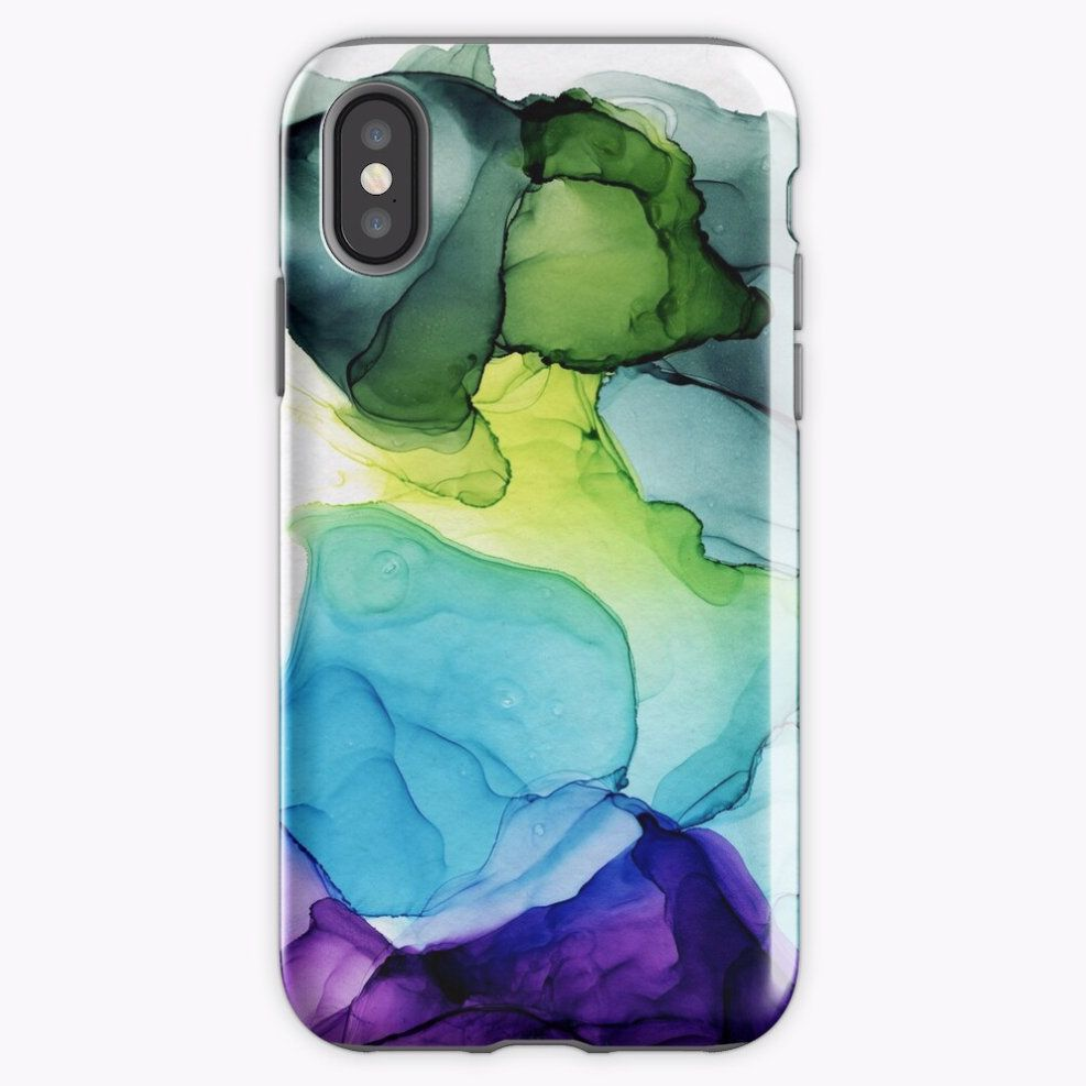 Abstract Watercolor Iphone Xr Iphone X Case Iphone 8 Case