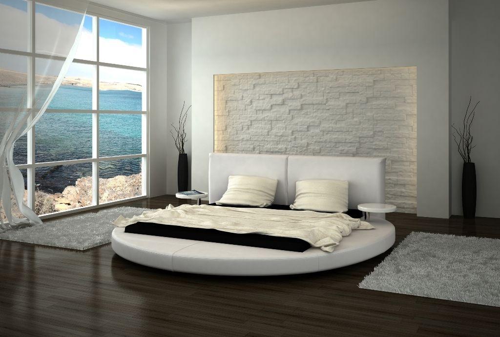 Rundbett Design Roma Mit Nachttischen Polsterbett Ebay Bett