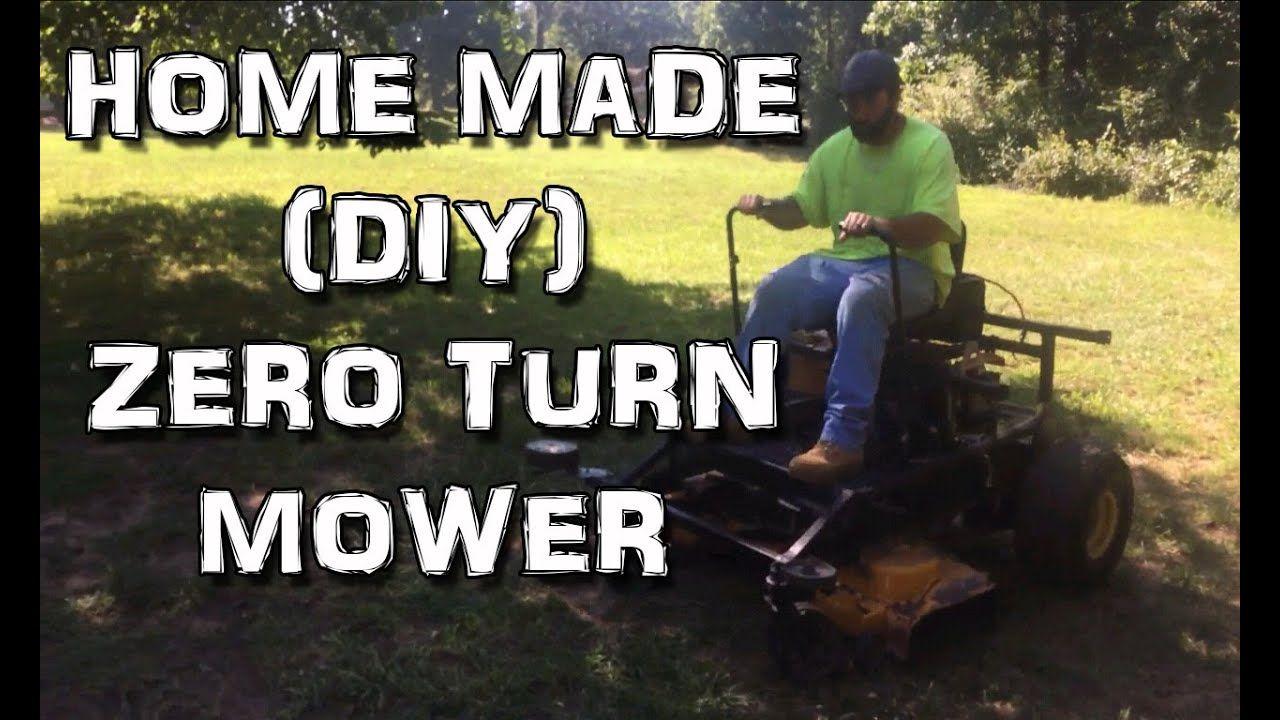Home Made Diy Zero Turn Mower Zero Turn Mowers Zero Turn Lawn Mowers Mower