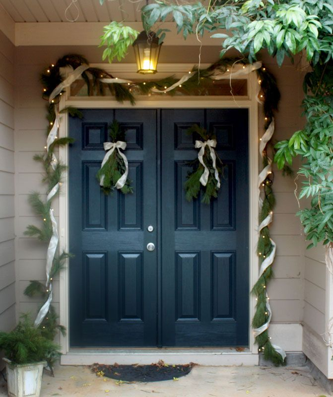 deep blue front door i may want to paint my front door this color for my home double front. Black Bedroom Furniture Sets. Home Design Ideas