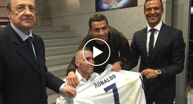 167d046576 Este Gesto Solidário De Cristiano Ronaldo Está a Correr o Mundo http   www