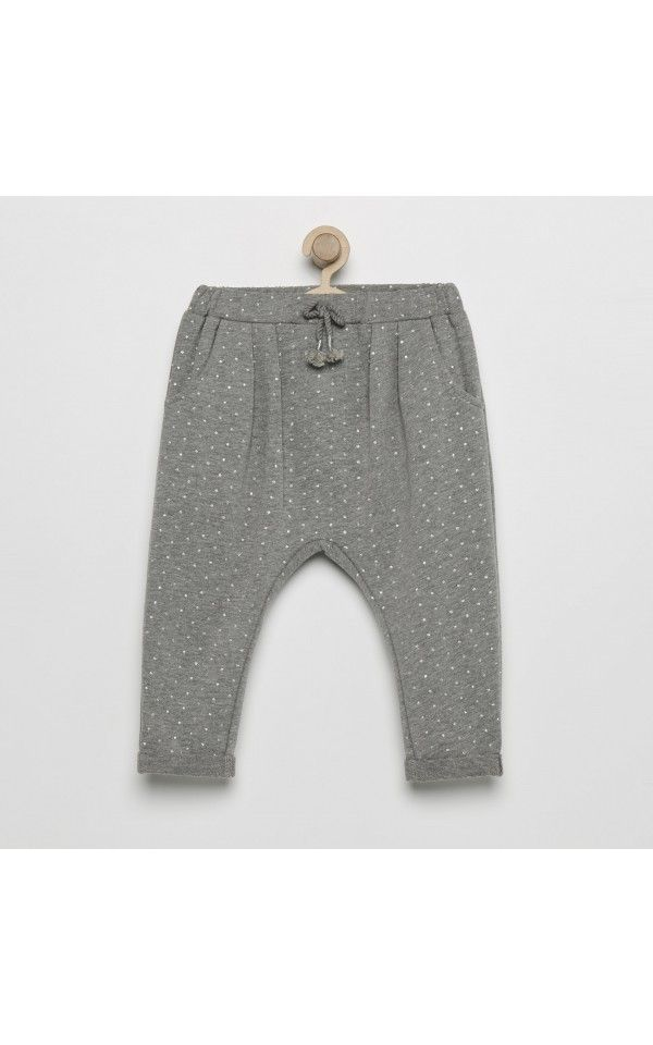 Spodnie Dresowe New Collection Girl Hu Szary Reserved Sweatpants Fashion Girl