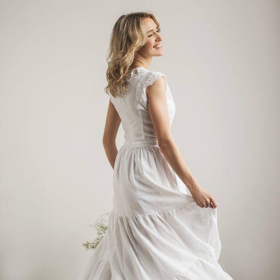 Photo of Dream Wedding Dresses Boho and Wedding Dresses Hijab Cape. #linen wedding dresse …