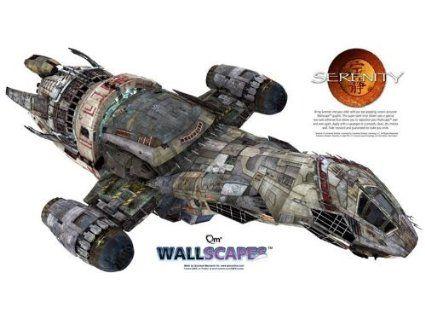 Serenity Wallscape Amazon Fr Jeux Et Jouets Luciole Serenite Vaisseau Spatial Jeu Jouet