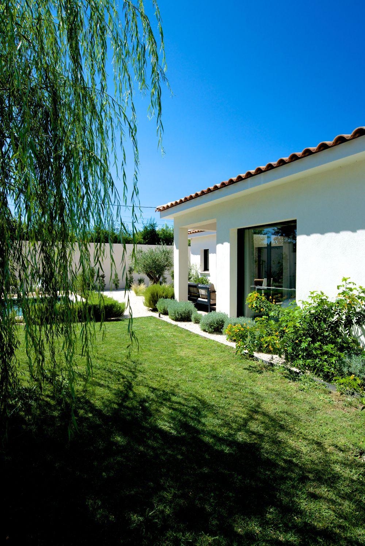 Plan De Maison Mas De Provence une villa en l, de plain pied - mas provence, constructeur