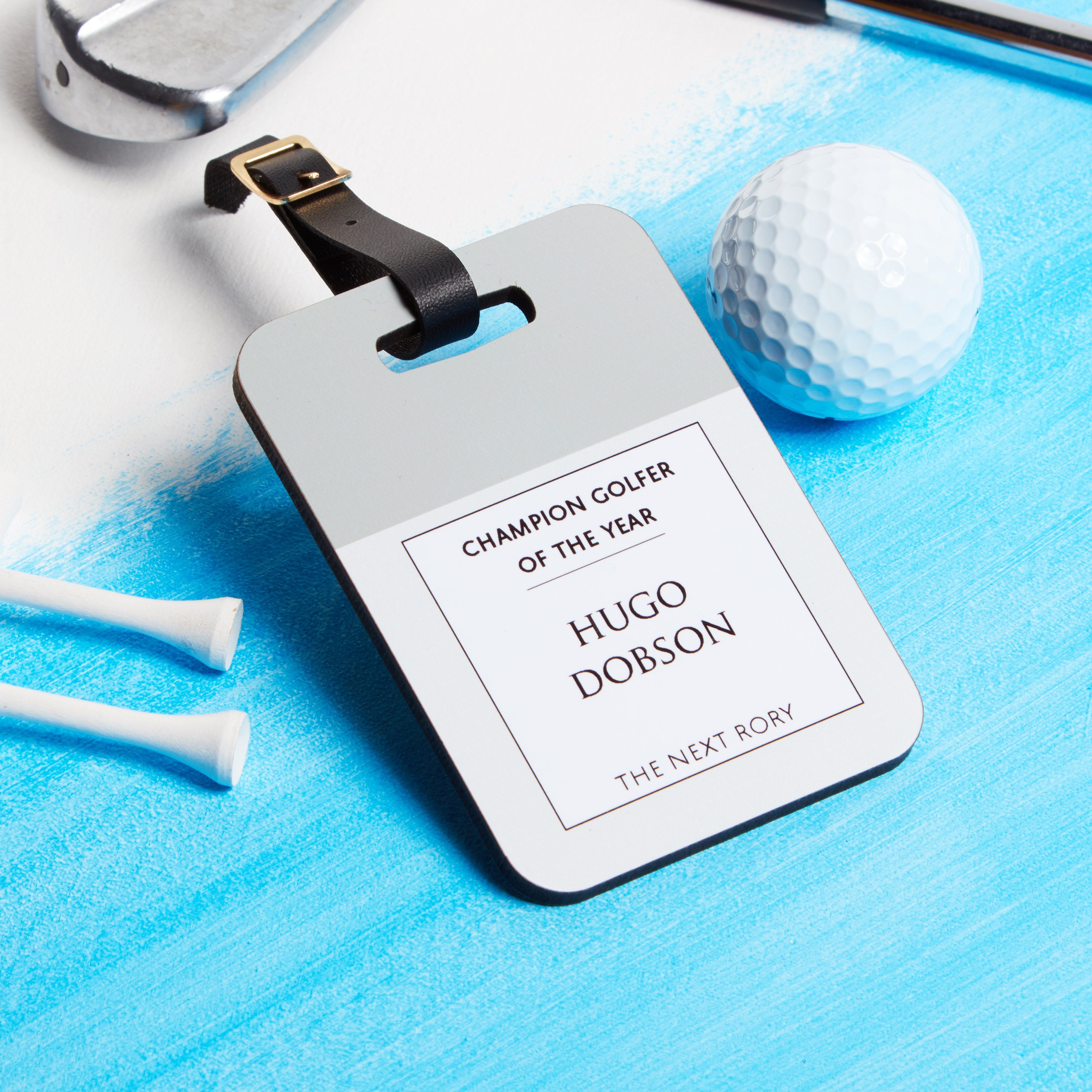 Personalised Golf Bag Tag from coconutgrass #GolfBags | Golf Bags ...