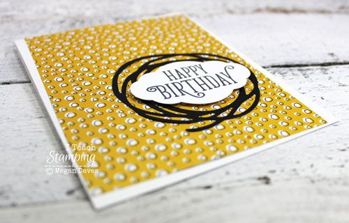 Clean and simple birthday card idea bookmarktalkfo Gallery