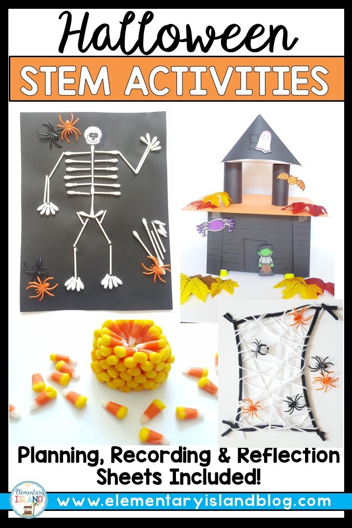 Halloween STEM Challenges and Activities for October