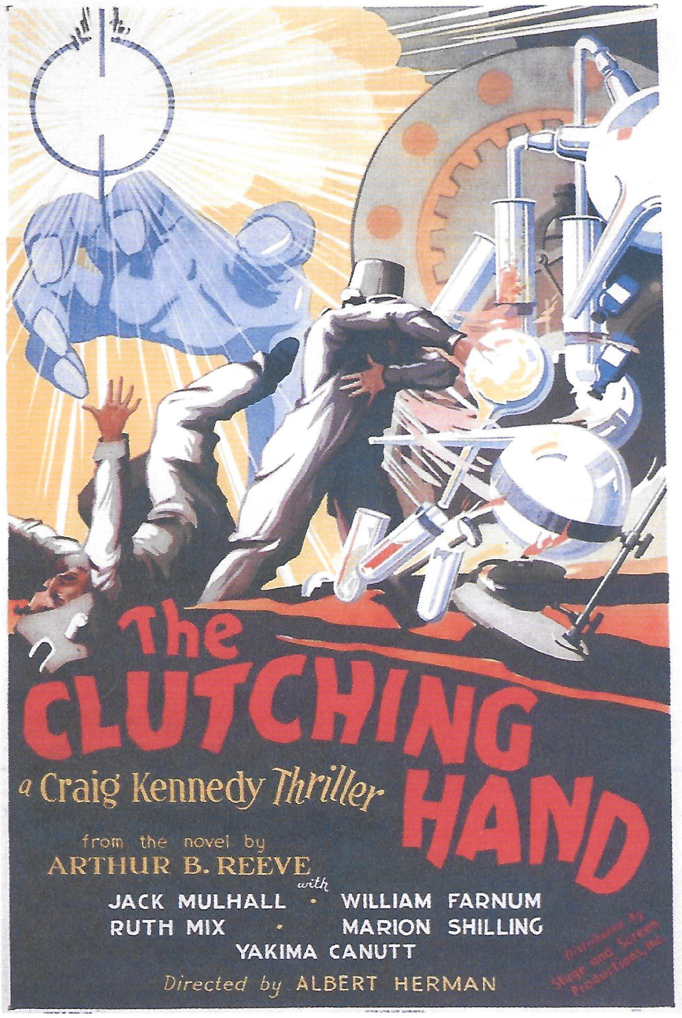 Watch The Amazing Exploits of the Clutching Hand Full-Movie Streaming