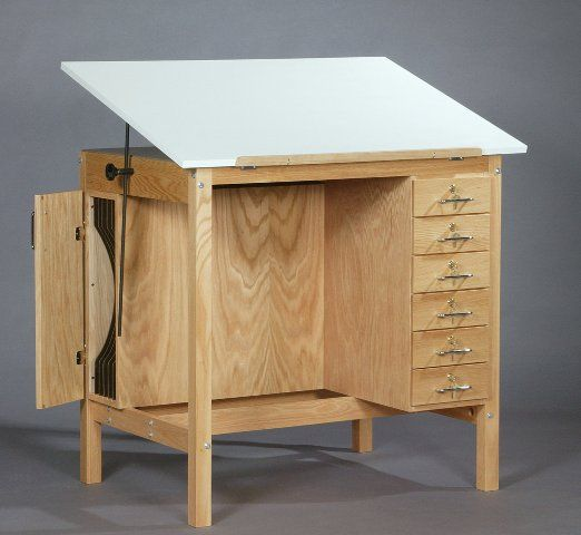 Marvelous Wooden Drafting Table