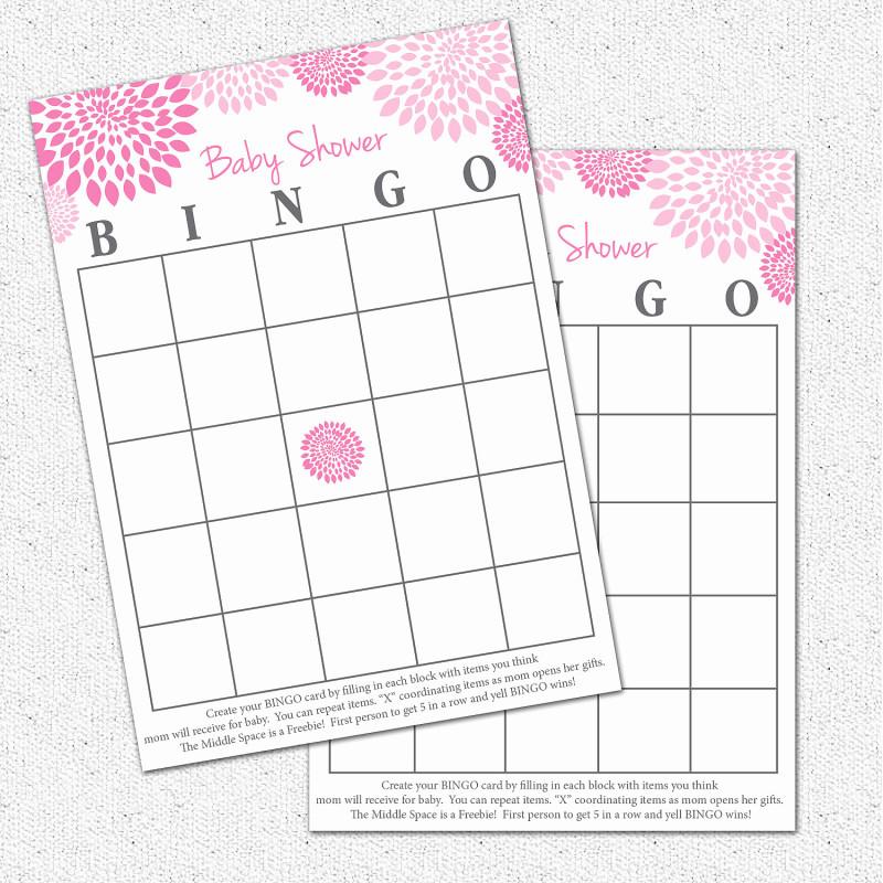Blank Bingo Card Template Microsoft Word New Baby Shower Bingo Card Template Museo Template Baby Shower Bingo Blank Bingo Cards Bingo Card Template