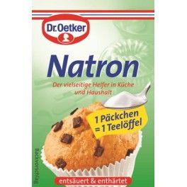 BAKING SODA DEUTSCH NATRON