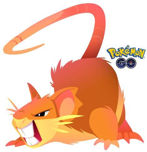 Imagen Raticate 2 de Pokémon Go