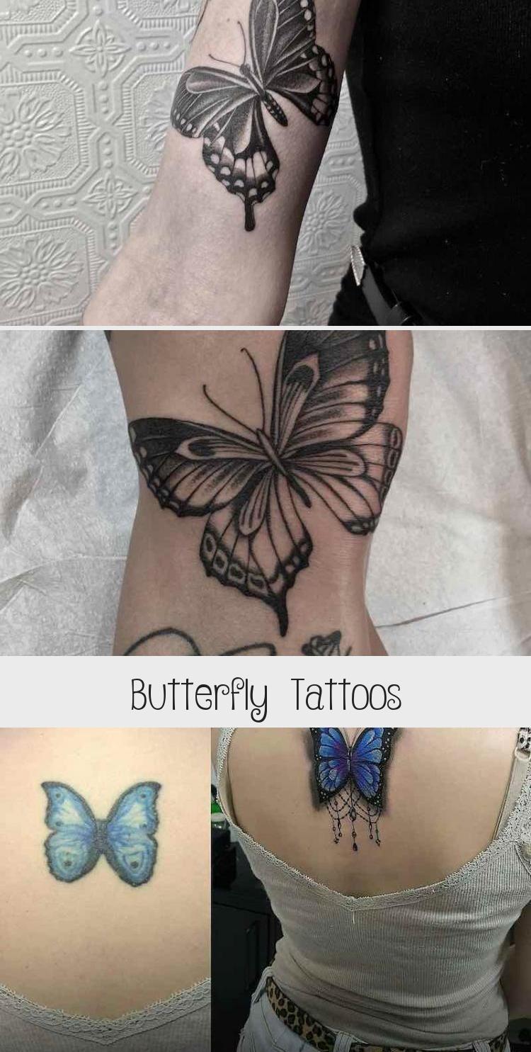 Butterfly Tattoos by Ed Taemets #blacktattooOberarm # ... - photo#16